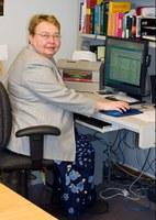 Holy Rosary Parish Secretary, Barbara Kuropatwa