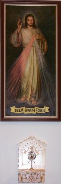 Obraz Jezu Ufam Tobie, 2004
