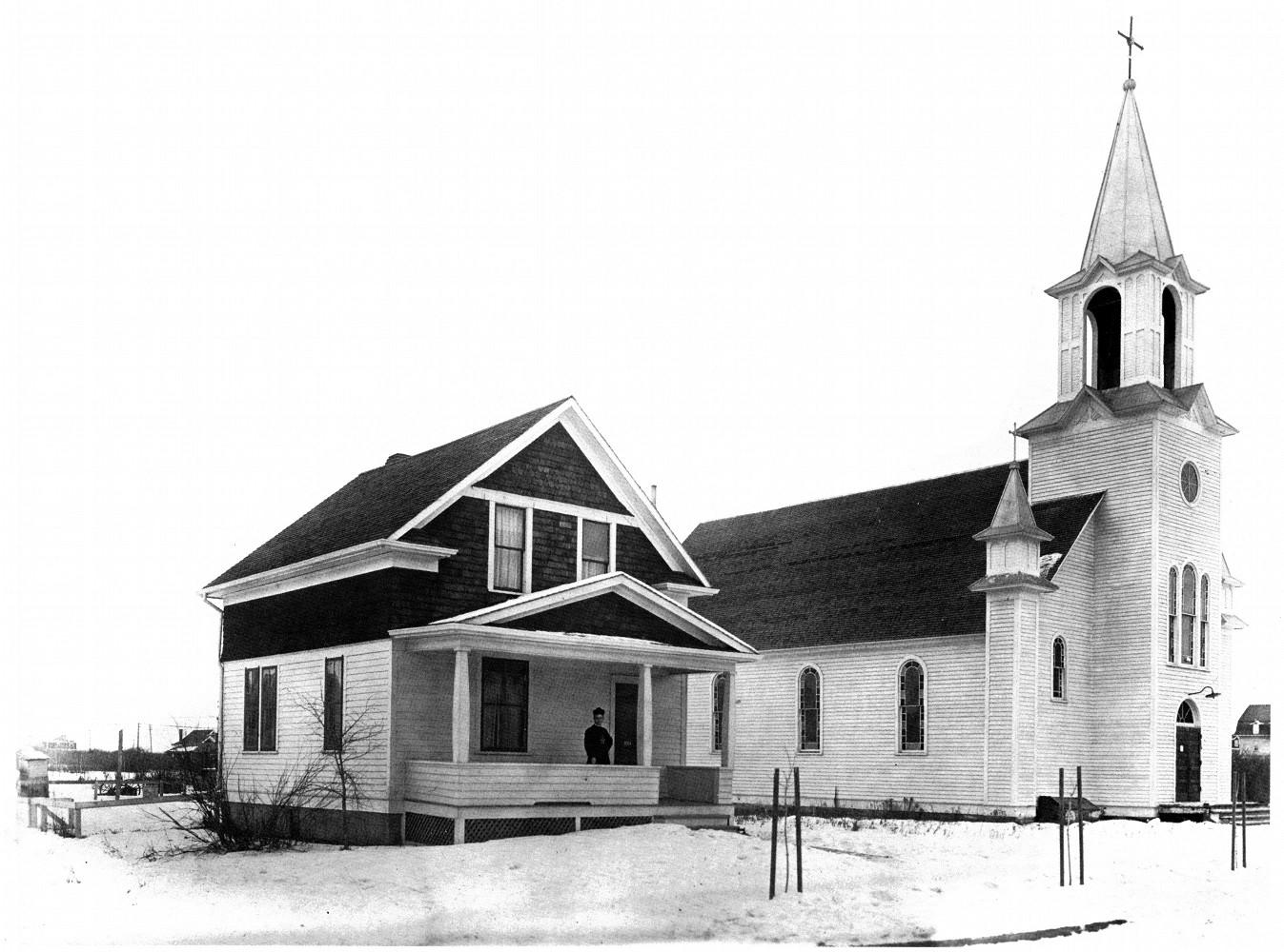 Pierwszy Kościół Parafii Różańca Świętego