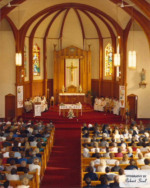 Wnętrze Kościoła, 1988