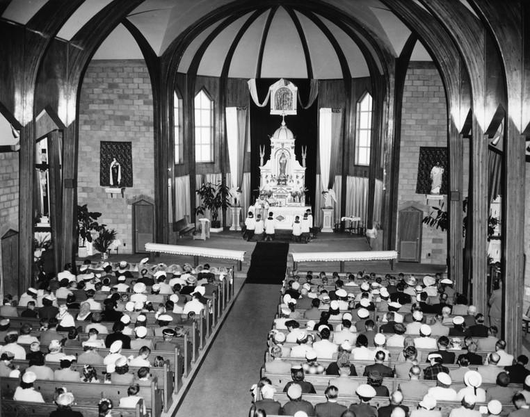 Wnętrze Nowo Wybudowanego Kościoła