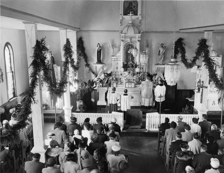Wnętrze Pierwszego Kościoła